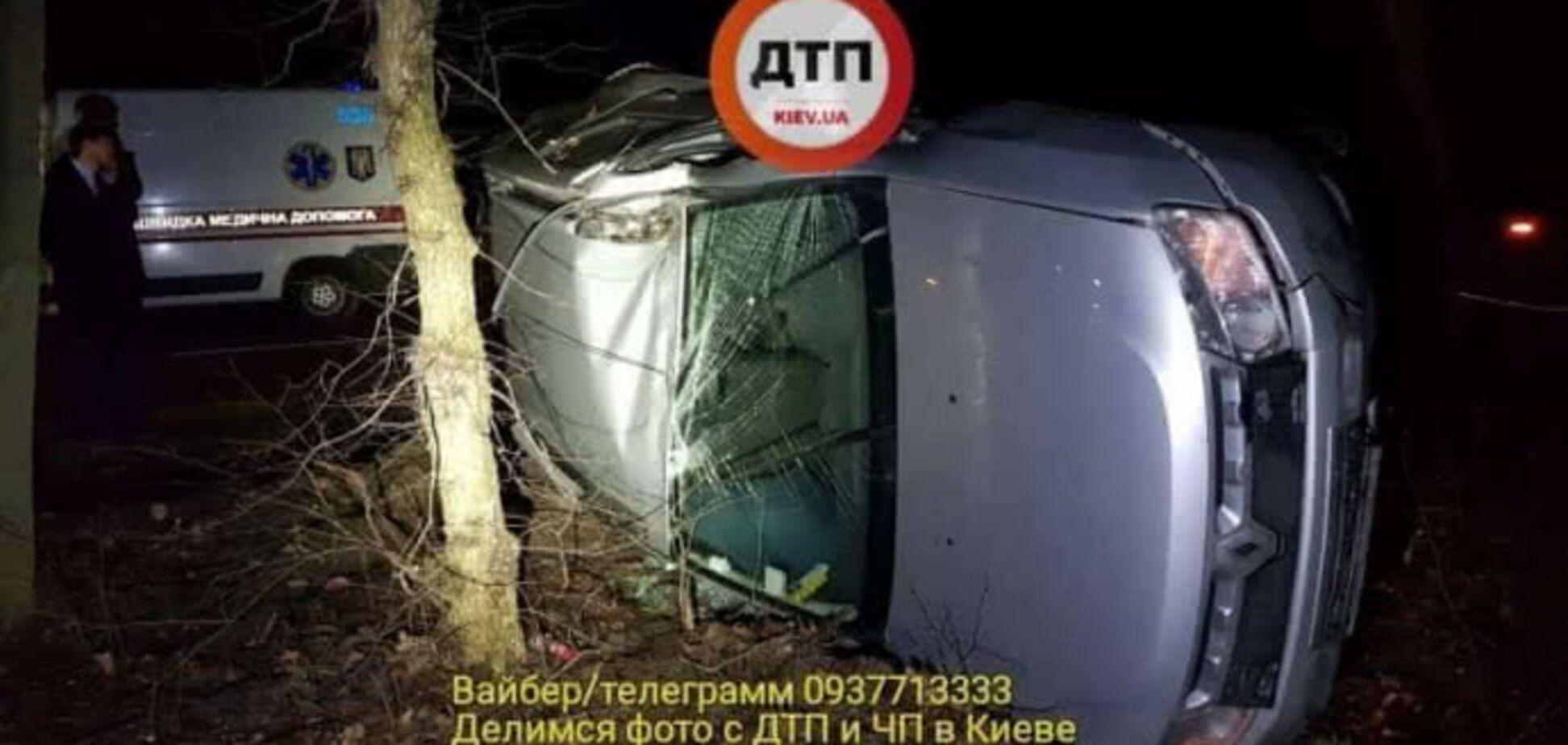 ДТП с пьяным судьей в Киеве: полиция начала расследование