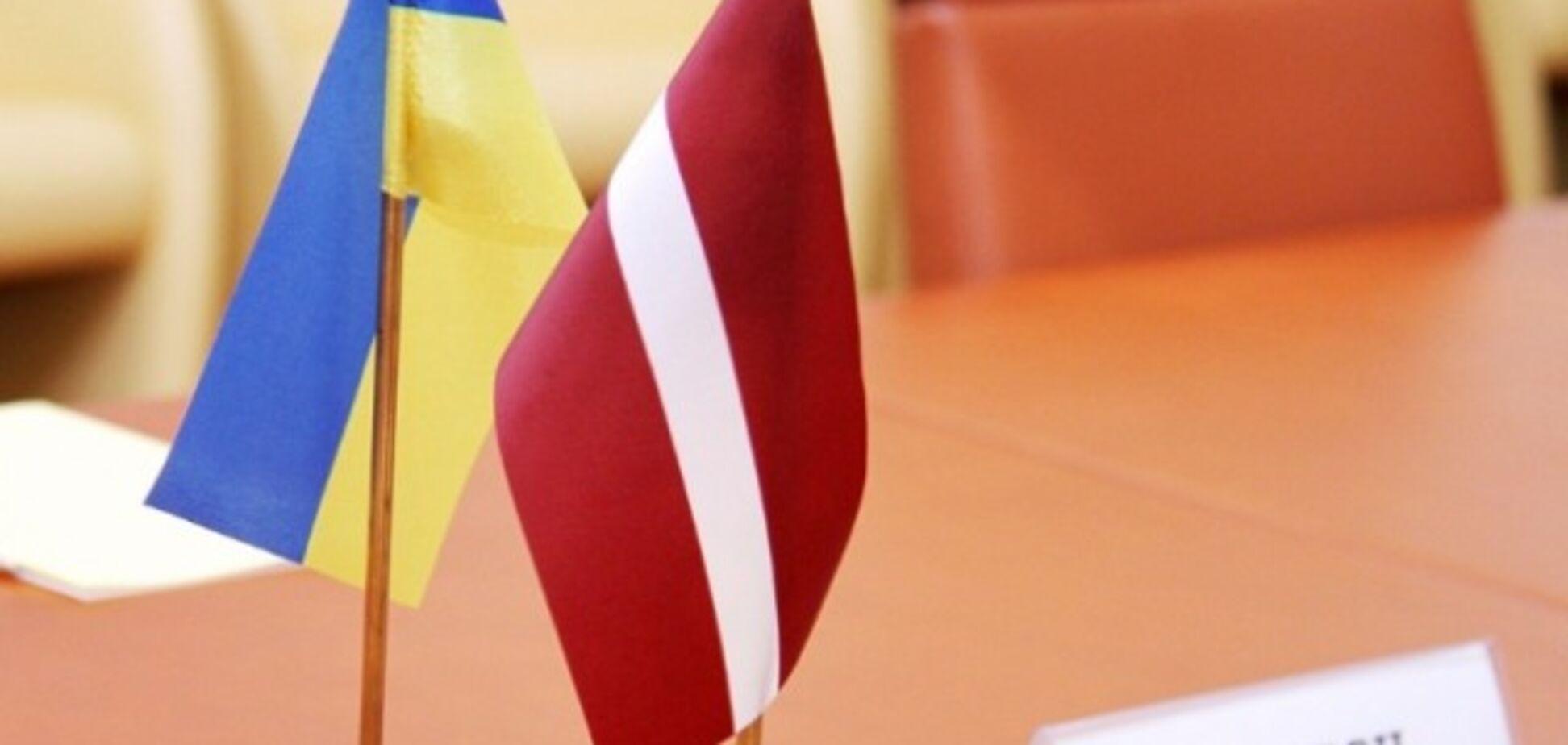 Україна Латвія