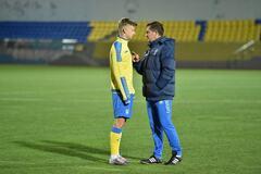 Гравець збірної України покинув 'Динамо' після розмови з Хацкевичем