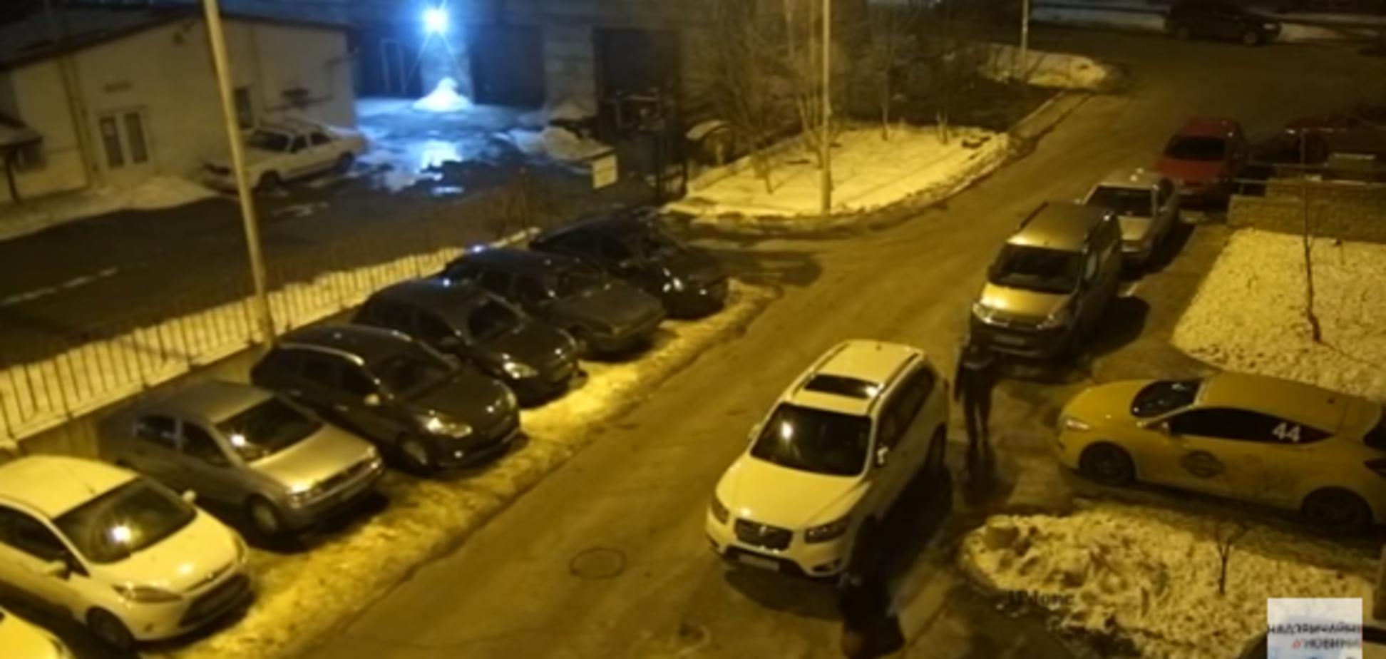 Эпопея с 'маньяком' в Киеве: появилось видео преследования жертвы
