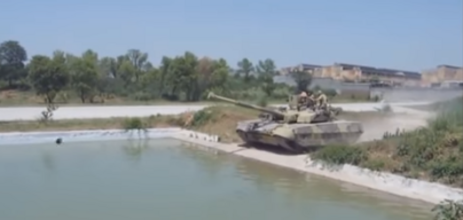 У мережі показали випробування українського танка 'Оплот' в Пакистані
