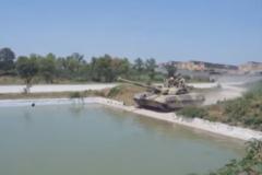 В сети показали испытание украинского танка 'Оплот' в Пакистане