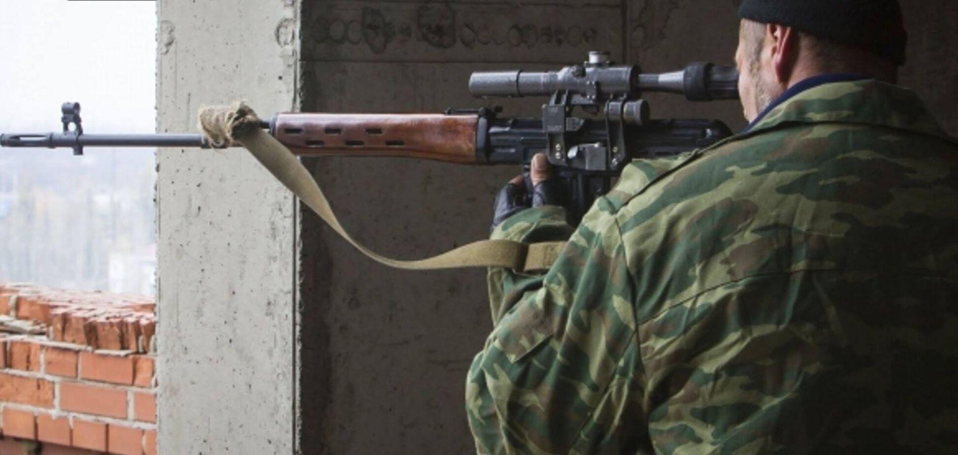 снайпер на Донбассе