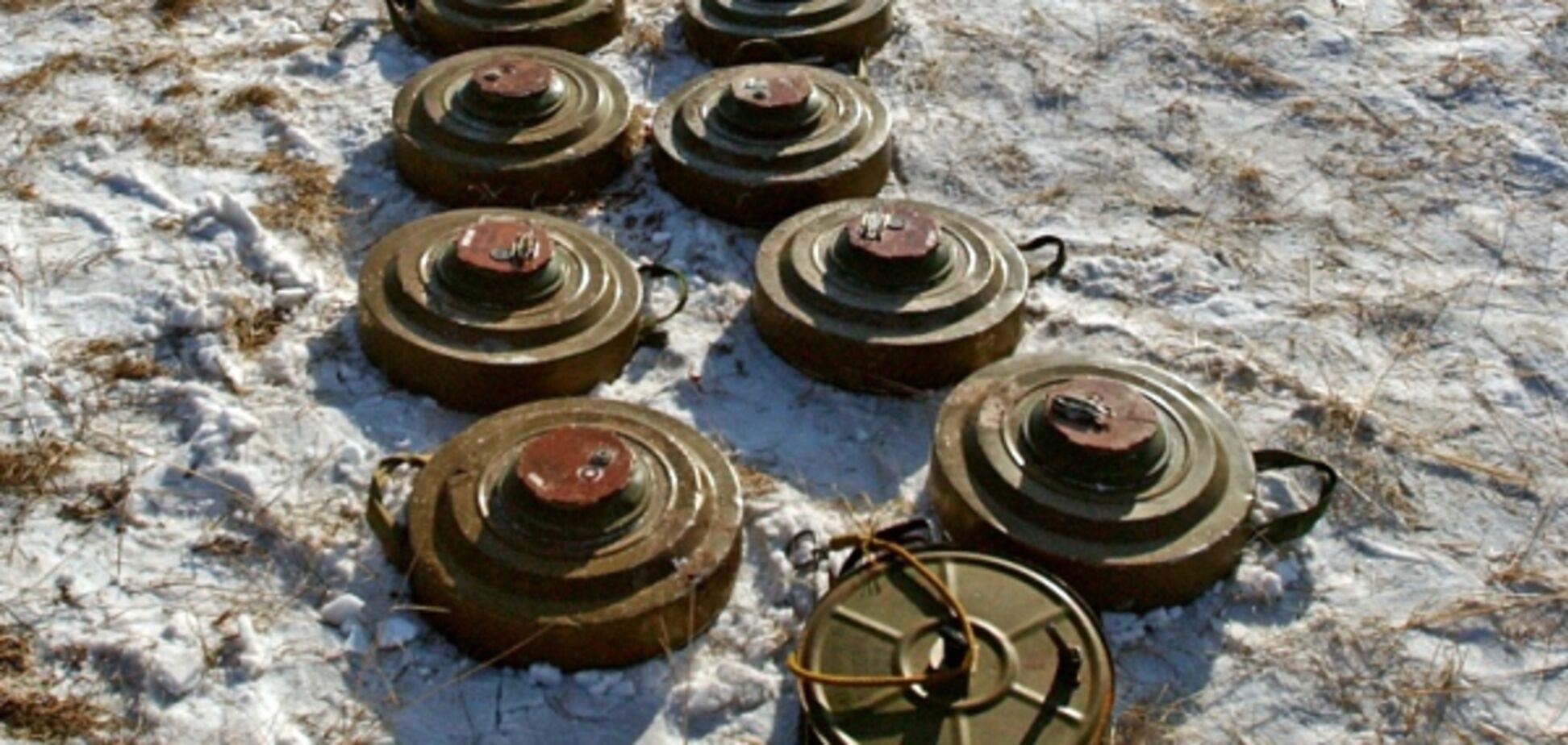 Населенные пункты на Донбассе взяли в минное кольцо