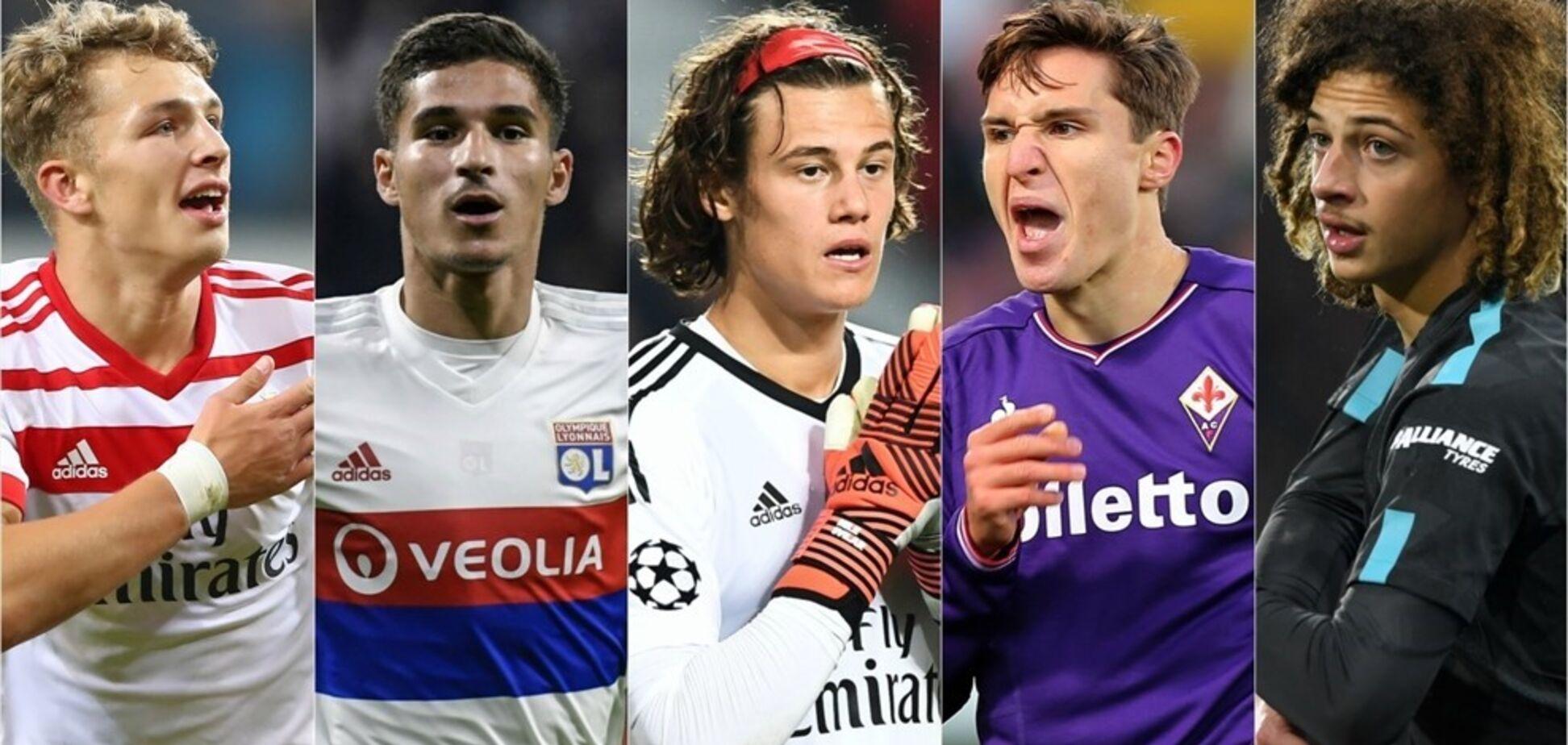 Молодые футболисты