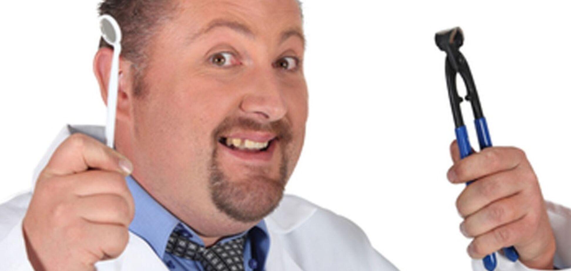 Может с дантистом нужно расплачиваться едой?
