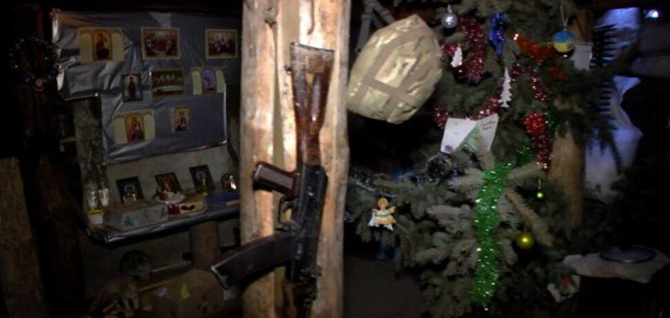 Колядки, кутья и служба: как празднуют Рождество бойцы АТО на Донбассе