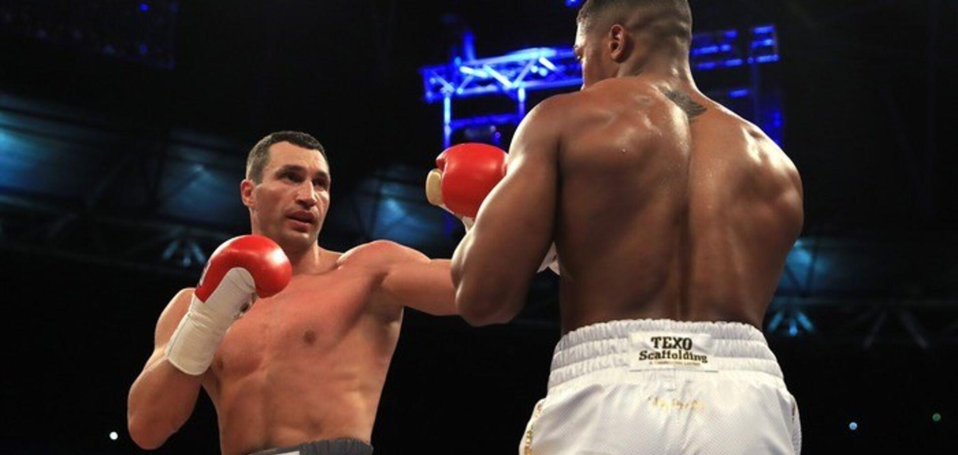 В Англии разразился громкий скандал из-за боя Кличко - Джошуа