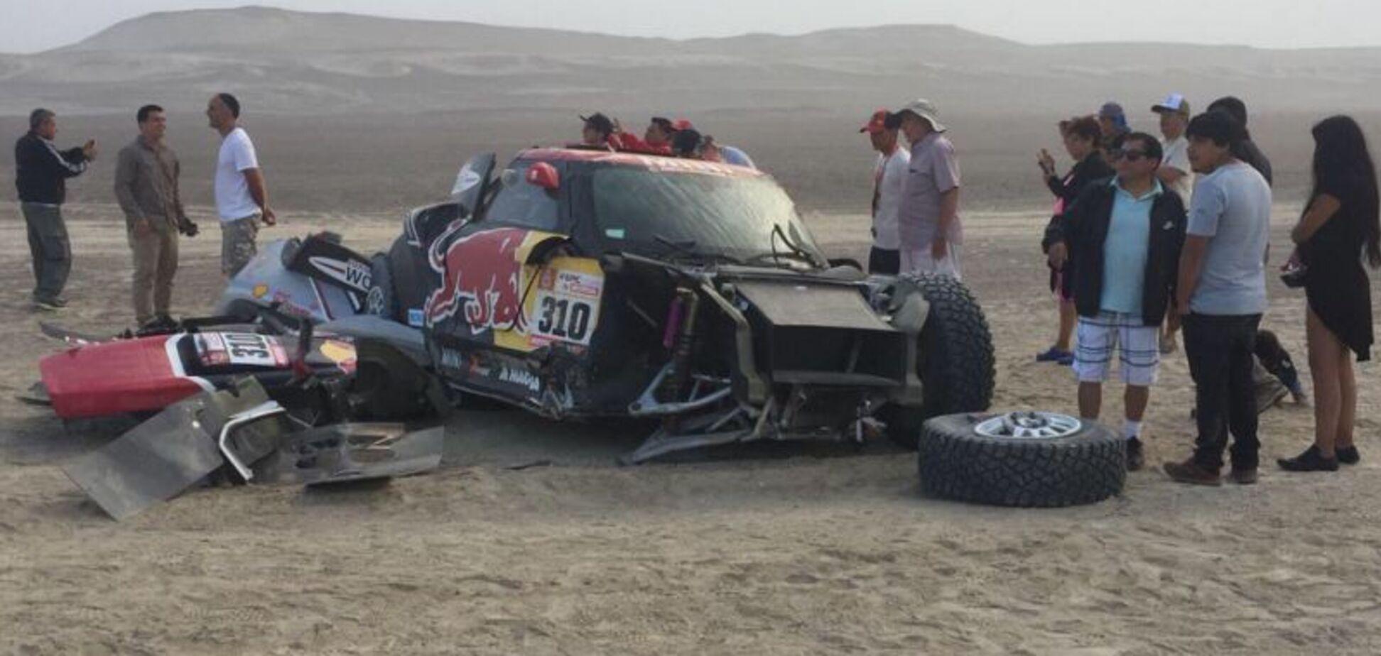 На легендарному ралі 'Дакар' сталася страшна аварія: опубліковано відео