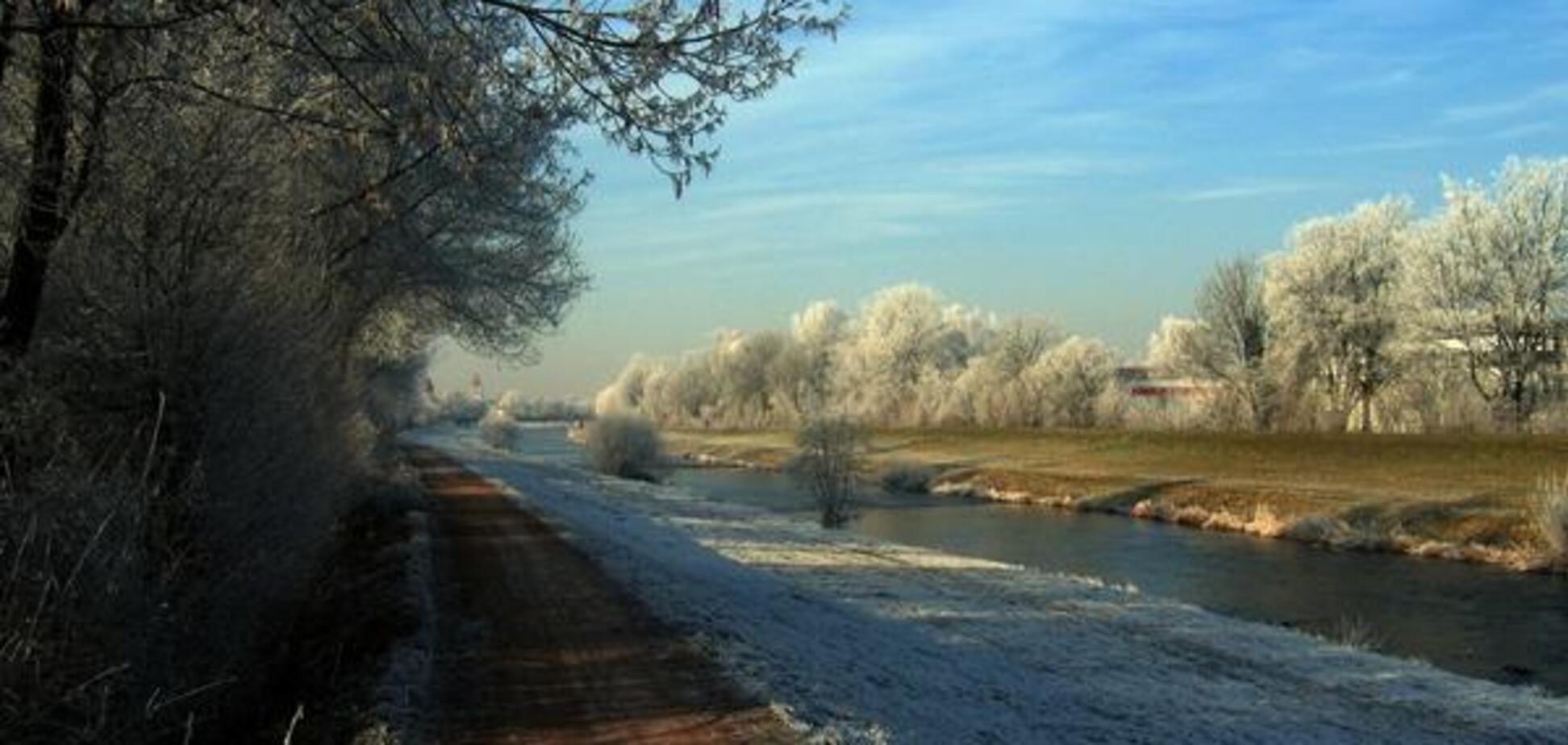 Мороз погода Украина