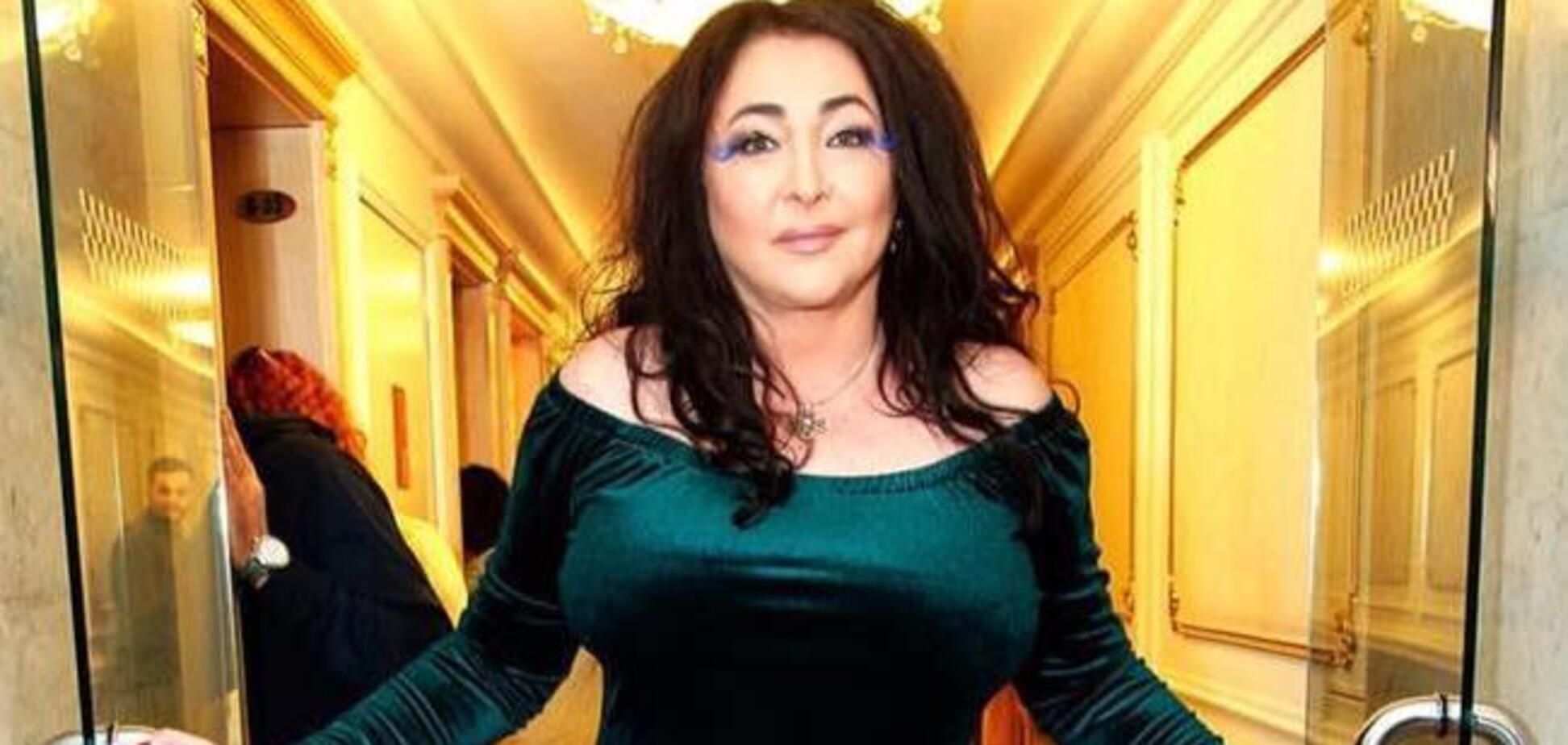 На премії в Москві Лоліта зі сцени вилаялася матом: відео