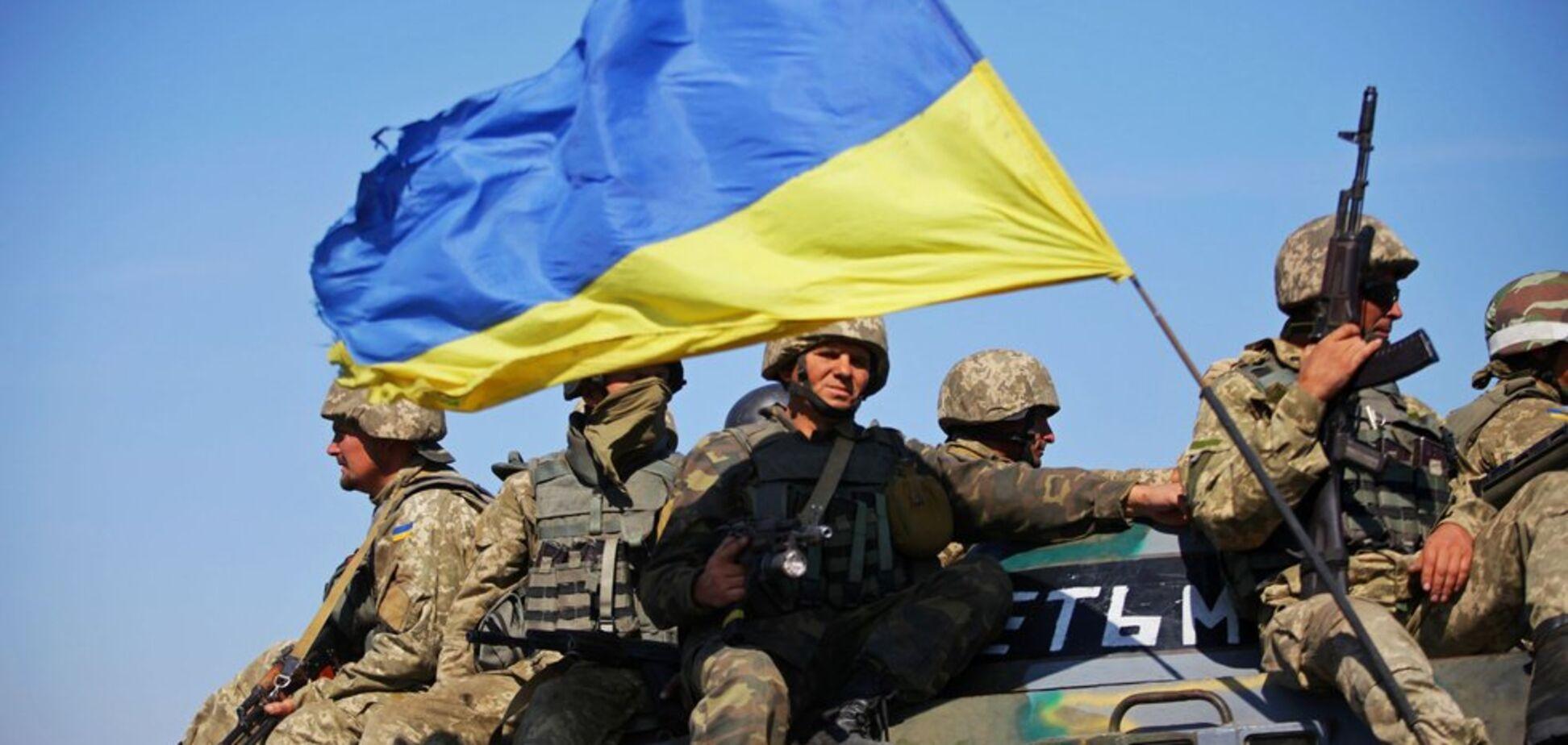 ''Камені з неба'': з'явилося відео нищівного удару ЗСУ по терористах ''ДНР''