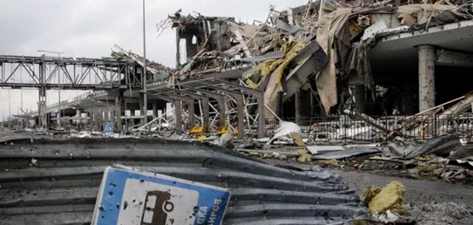 Четыре года назад: появилось знаковое фото Донецкого аэропорта