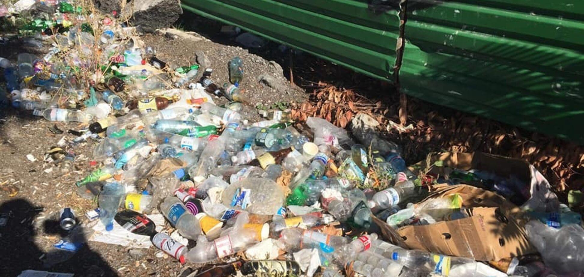В окупованому Криму поскаржилися на гори сміття
