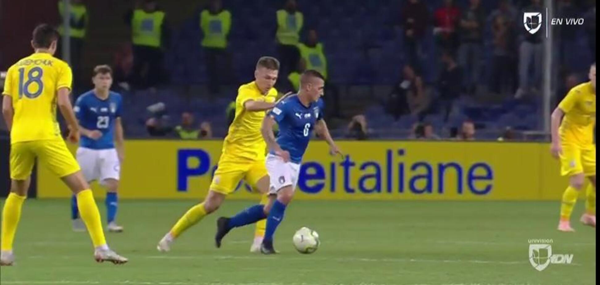 Збірна України уникла поразки в матчі з Італією