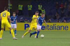 Сборная Украины ушла от поражения в матче с Италией