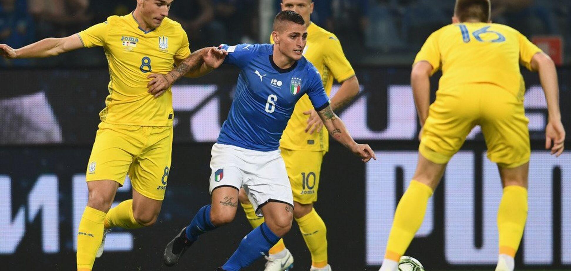 Італія — Україна: огляд матчу
