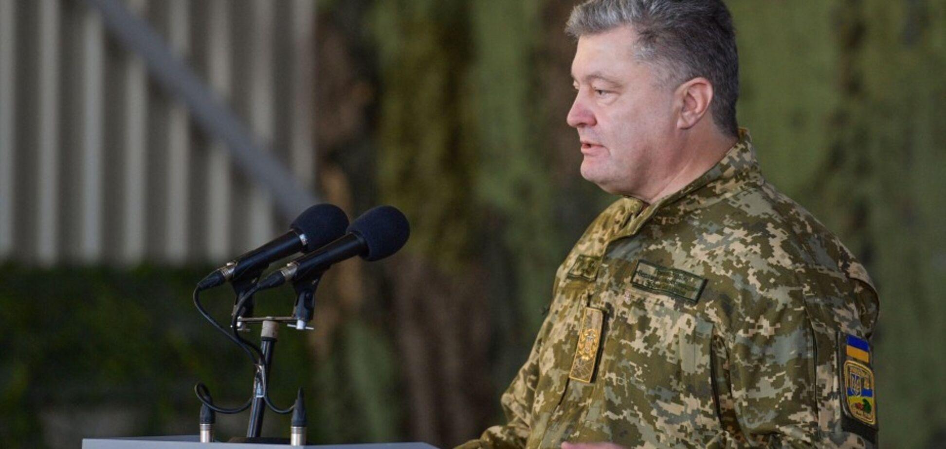 Бити з усієї зброї! Порошенко дав ОС відмашку на Донбасі