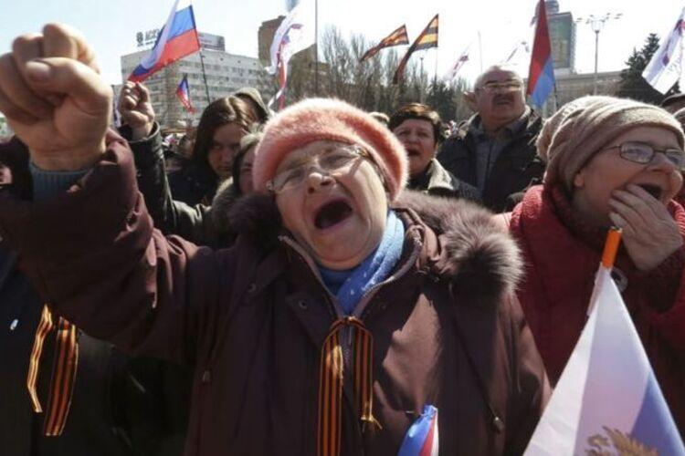 Как ДНР заставляет стариков страдать ради картинки в СМИ - Цензор.НЕТ 4320