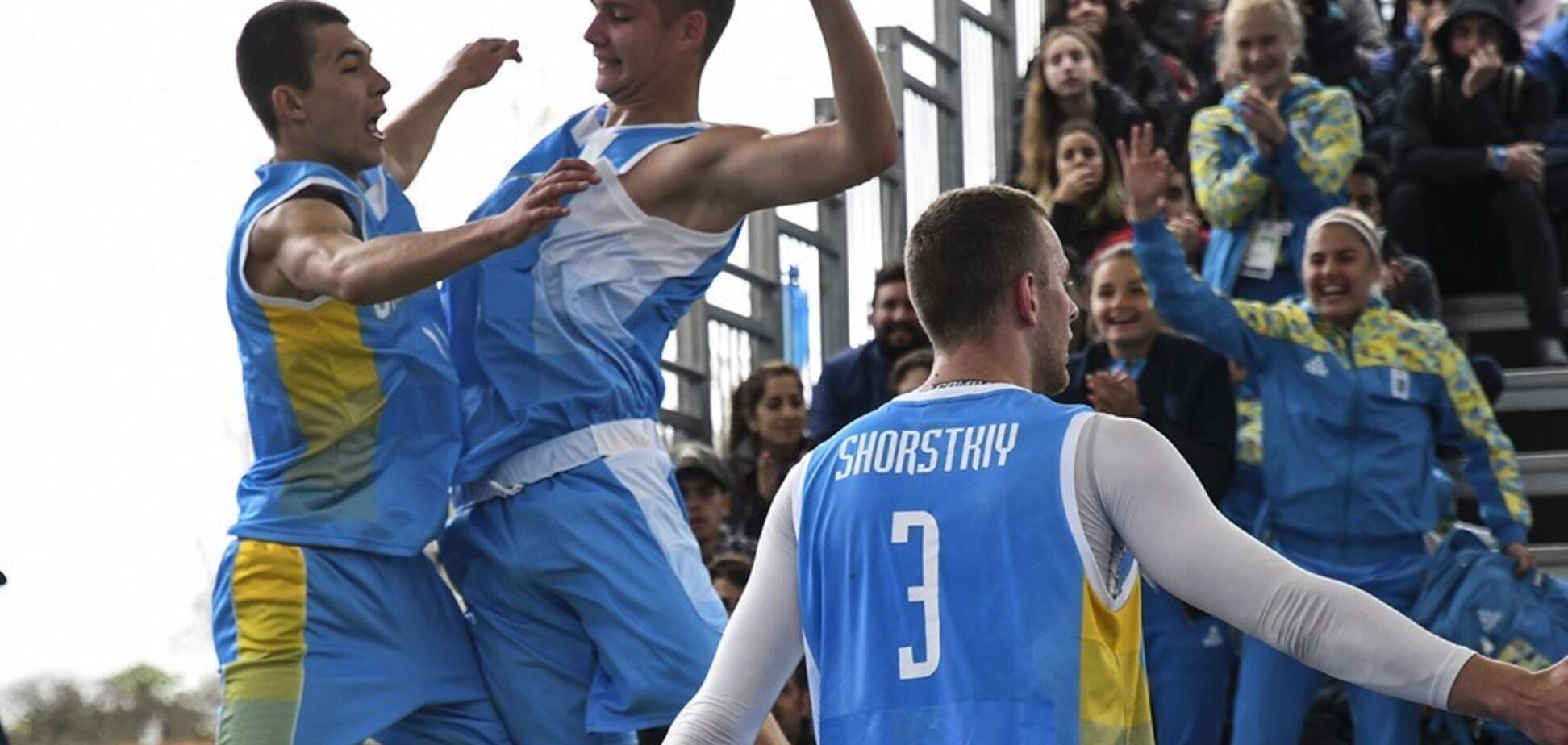 Українці з першого місця вийшли до чвертьфіналу ЮОІ-2018 в баскетболі 3х3