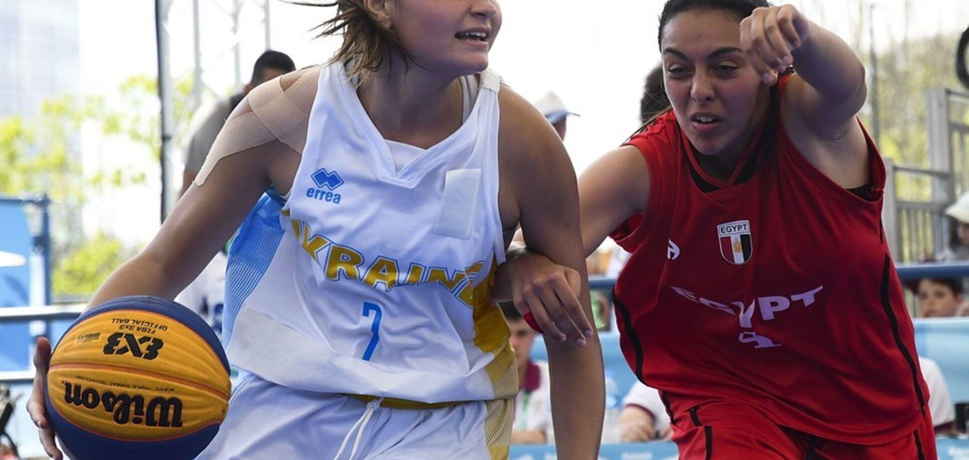 Українські баскетболістки 3х3 вийшли до чвертьфіналу Юнацької Олімпіади