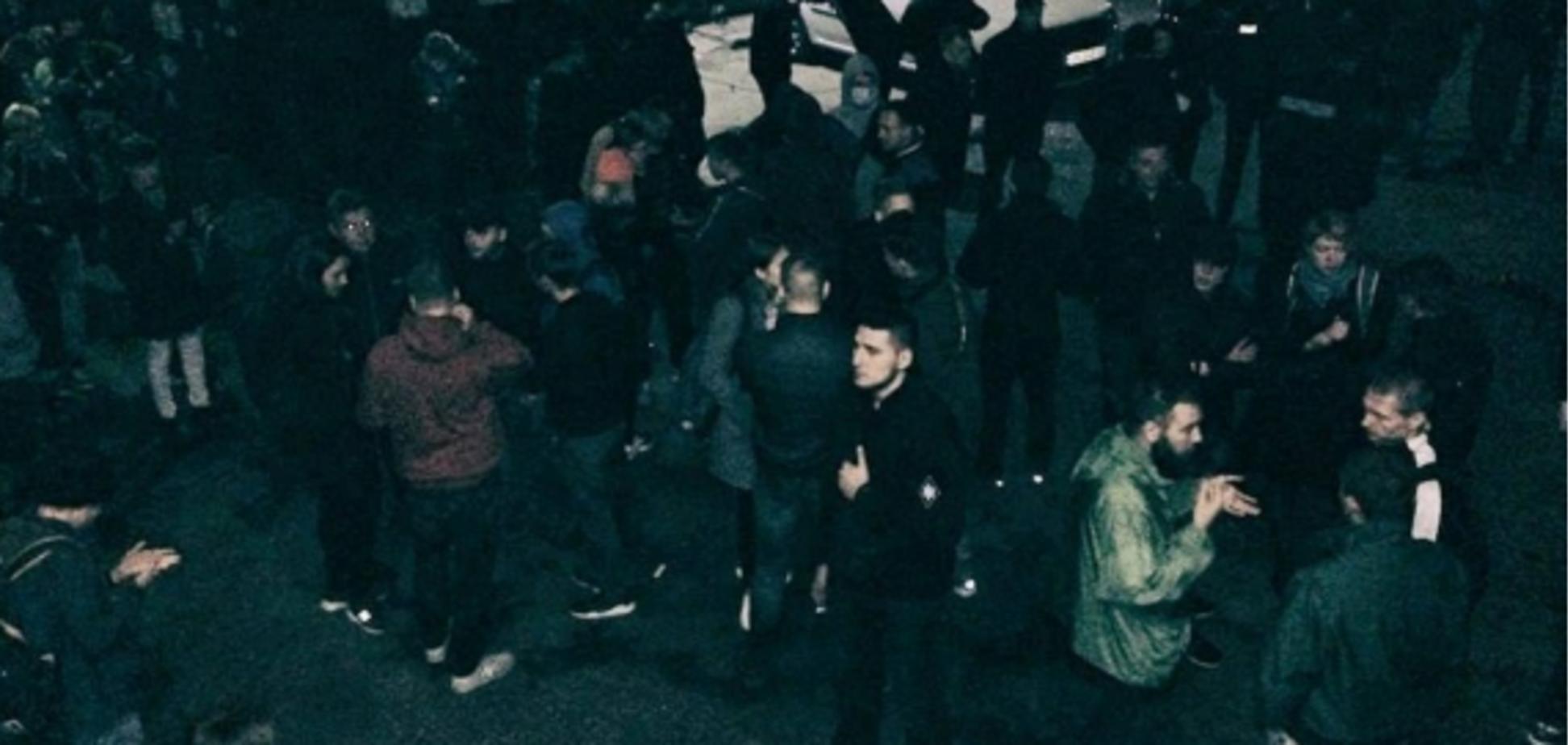 ''Не допустимо пропаганди дегенеративних ідей'': у Харкові зірвали ЛГБТ-захід