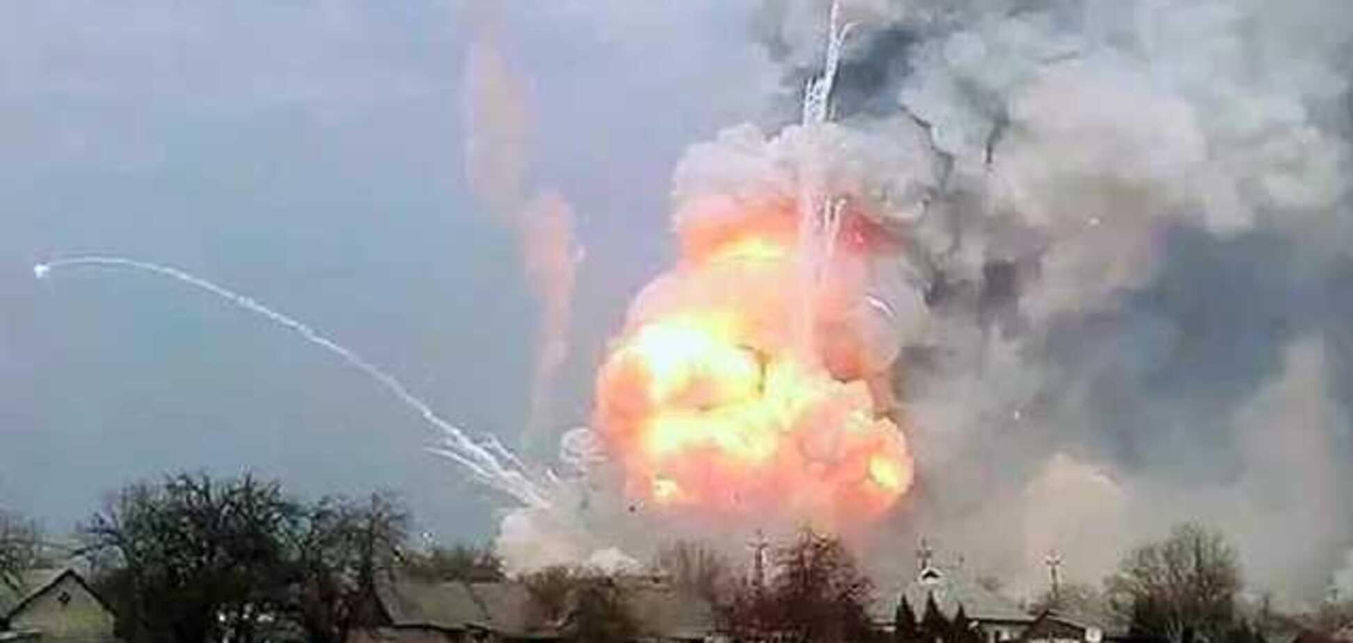 На складах в Ичне снова прогремело более 40 взрывов: что известно