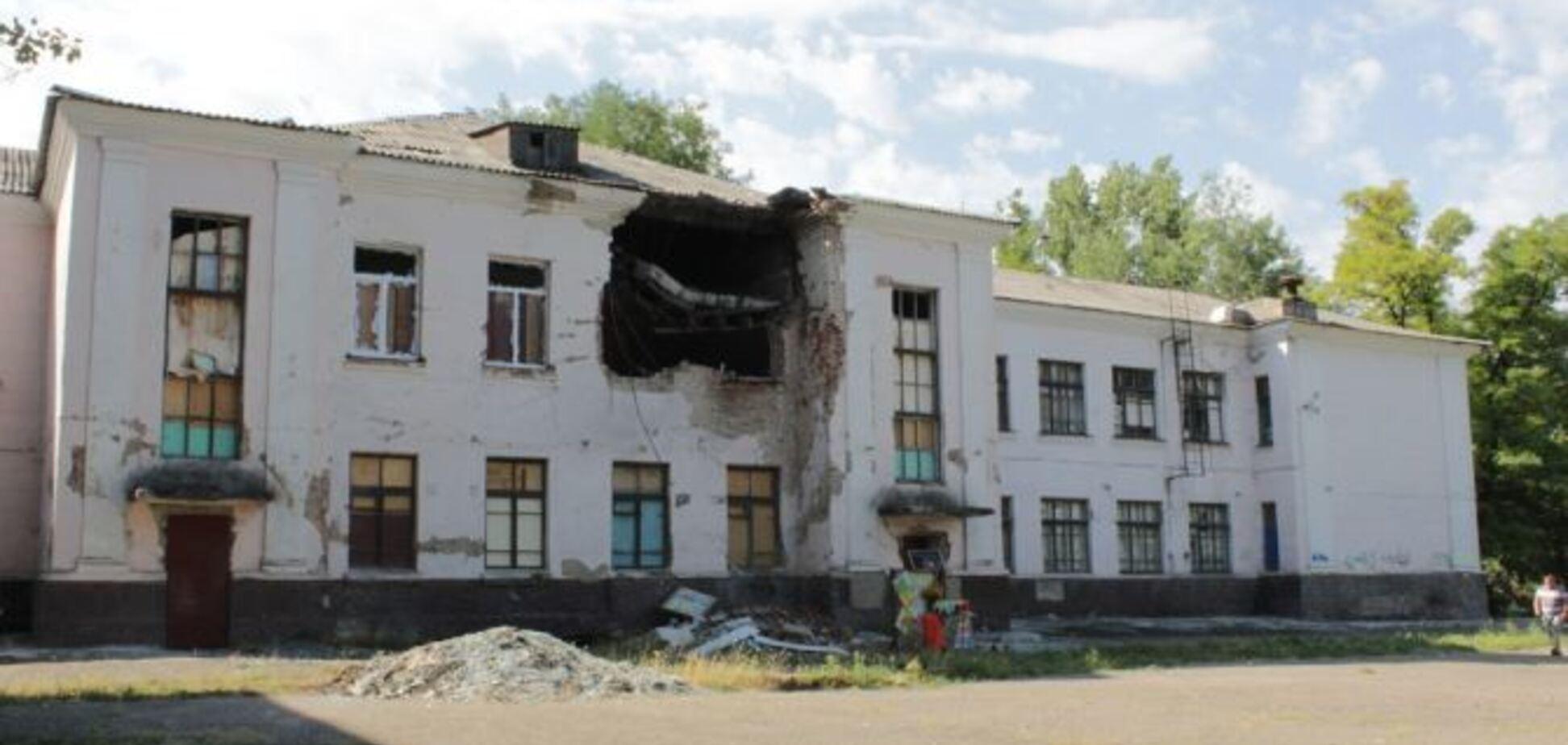 Визитная карточка нынешнего Луганска