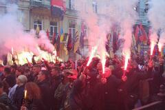 Тысячи людей вышли на марш УПА в Киеве: все подробности, фото и видео
