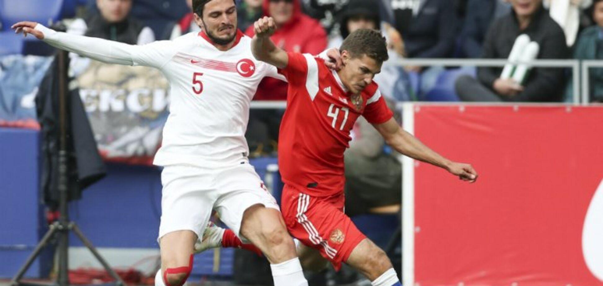 Росія - Туреччина: огляд матчу Ліги націй