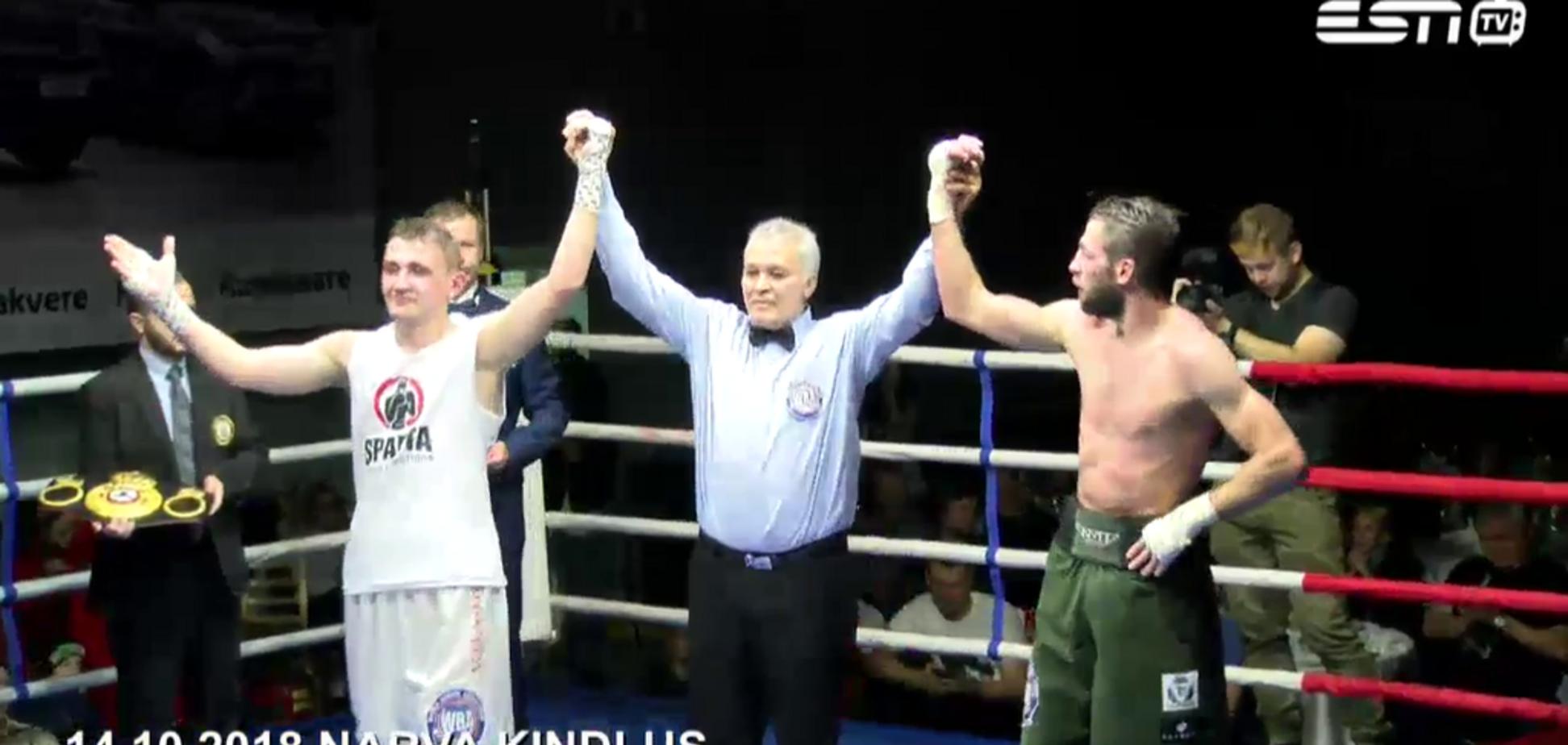 Судьи ''украли'' чемпионский пояс у украинского боксера