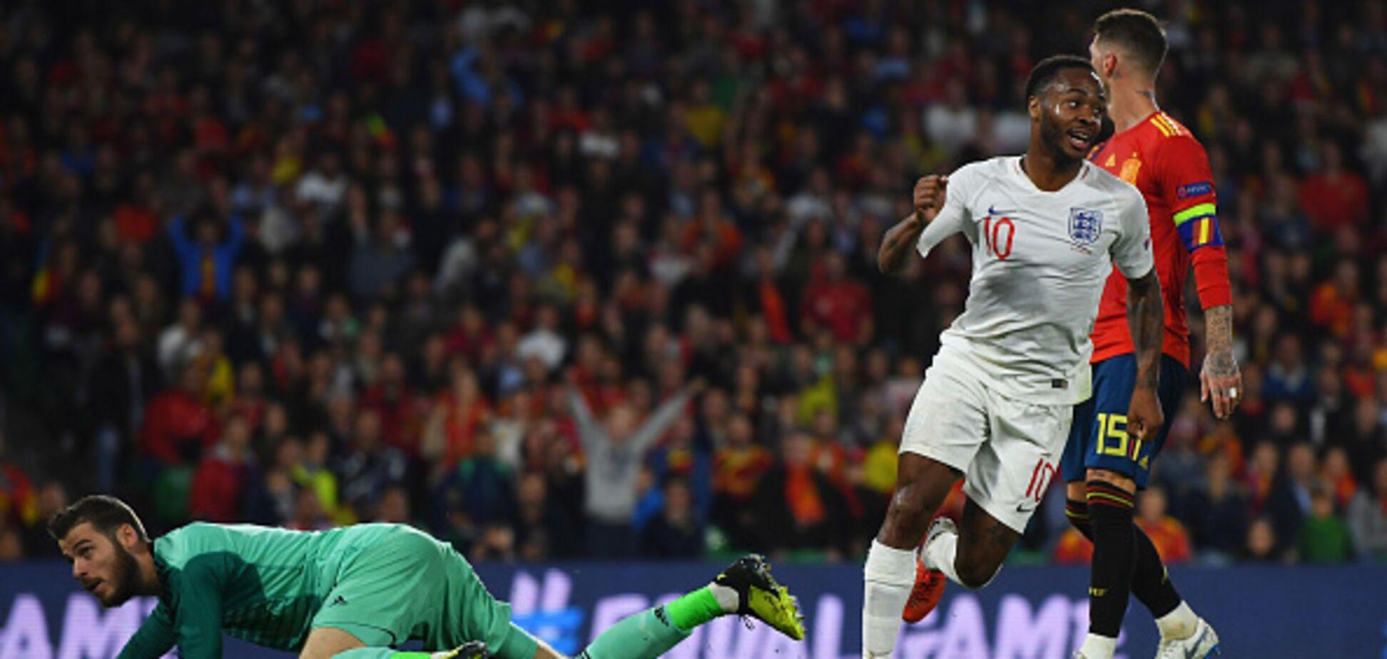 Матч Испания - Англия завершился грандиозной сенсацией