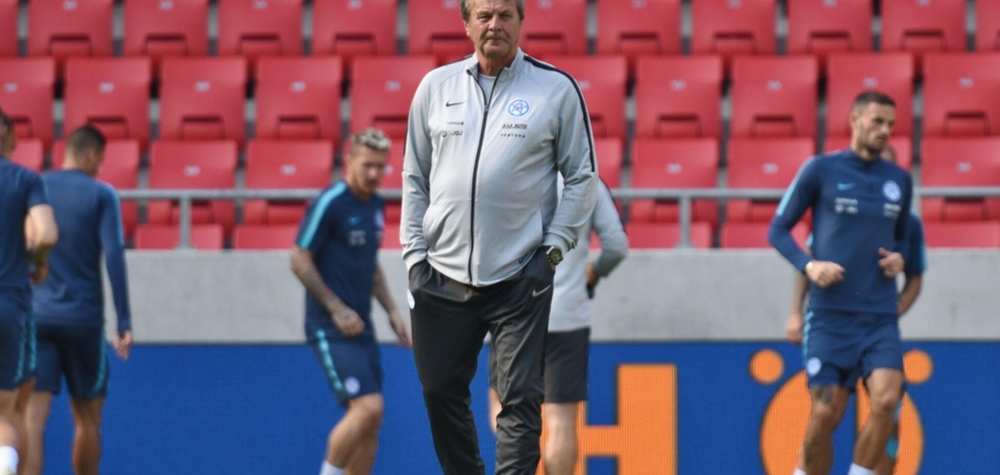 Ще один суперник України у Лізі націй позбувся тренера