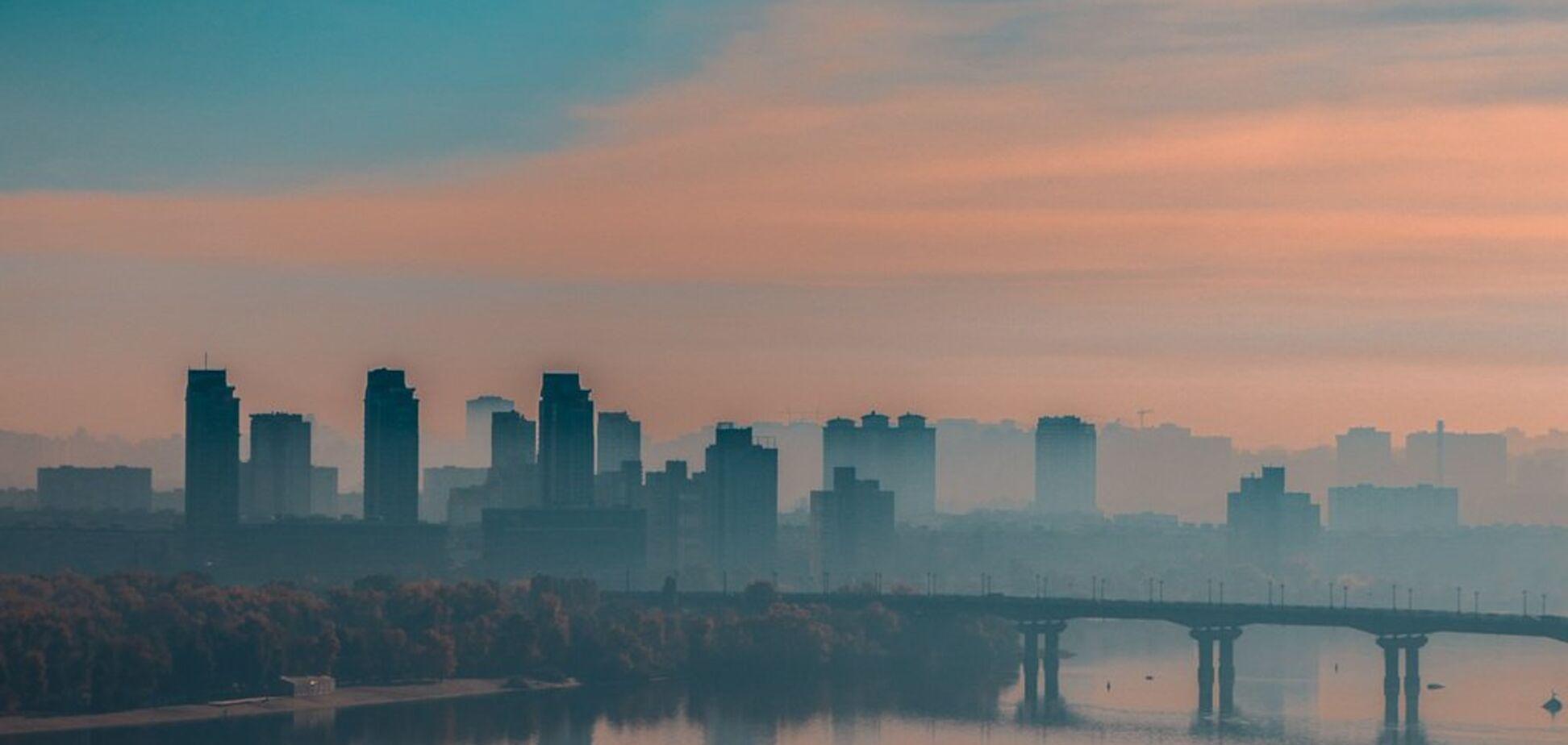 Київ у тумані: красиві фото столиці України