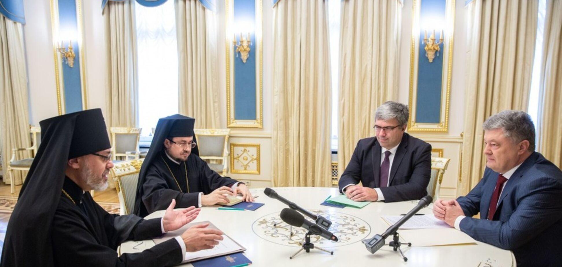 'Ім'я вписано золотими літерами': єпископ порівняв Порошенка із Ярославом Мудрим