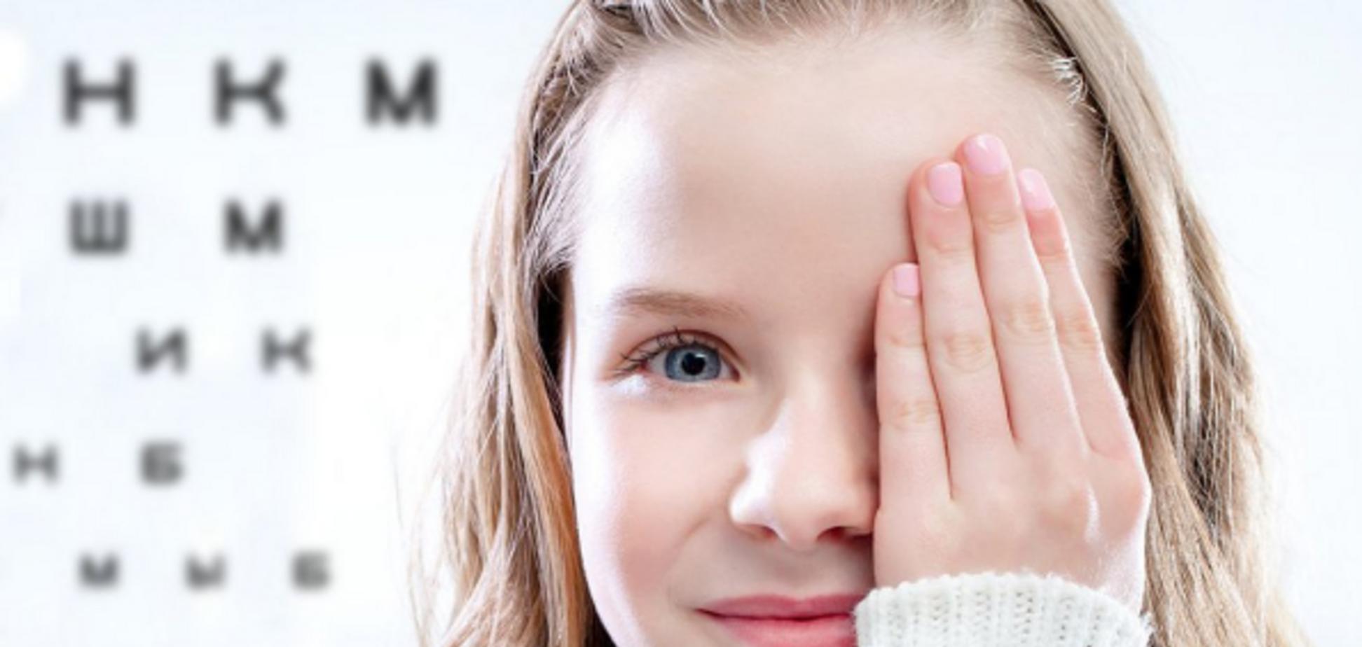 Контактные линзы для детей