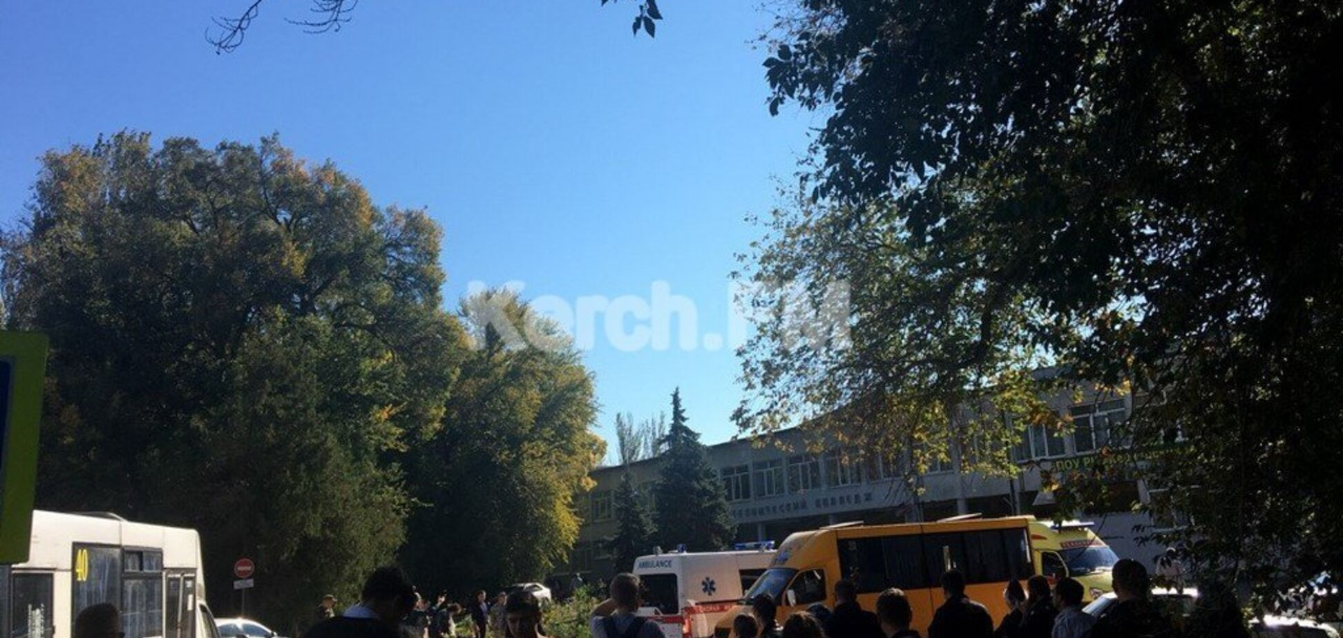 ''Там люди с автоматами'': появились подробности с места взрыва в Керчи