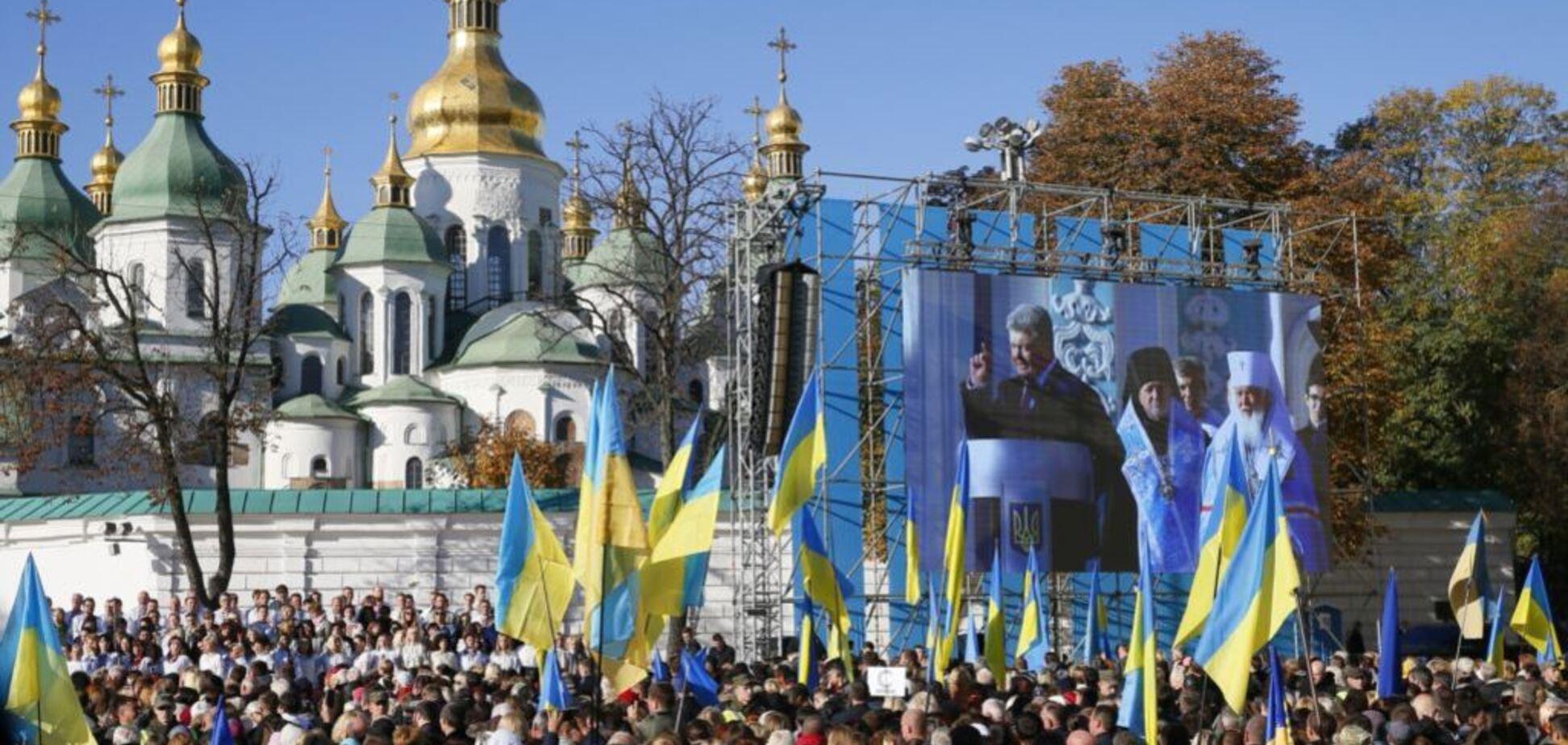 Єдина церква: стало відомо, скільки українців підтримують Томос