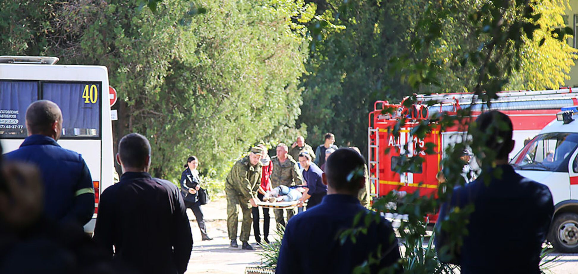 Взрыв в Керчи: в сети ищут пропавших подростков