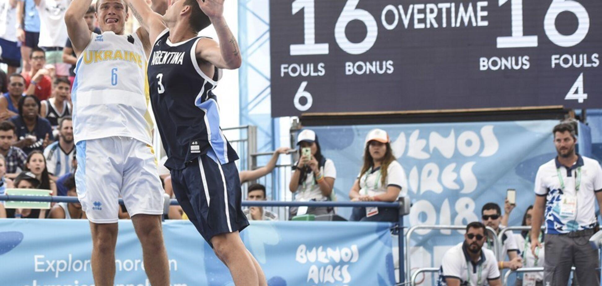 Україна увійшла у топ-4 Юнацької Олімпіади в баскетболі 3х3, випередивши Росію