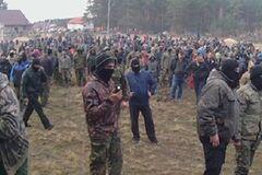 На Волыни 200 копателей янтаря подрались с полицией