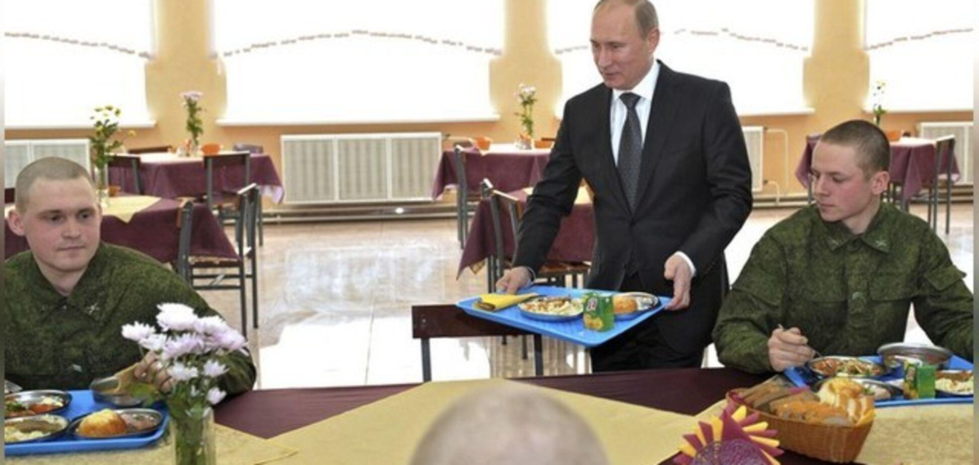 ''На десерт убитые дети'': Путин разгневал сеть 'ресторанным интимом'