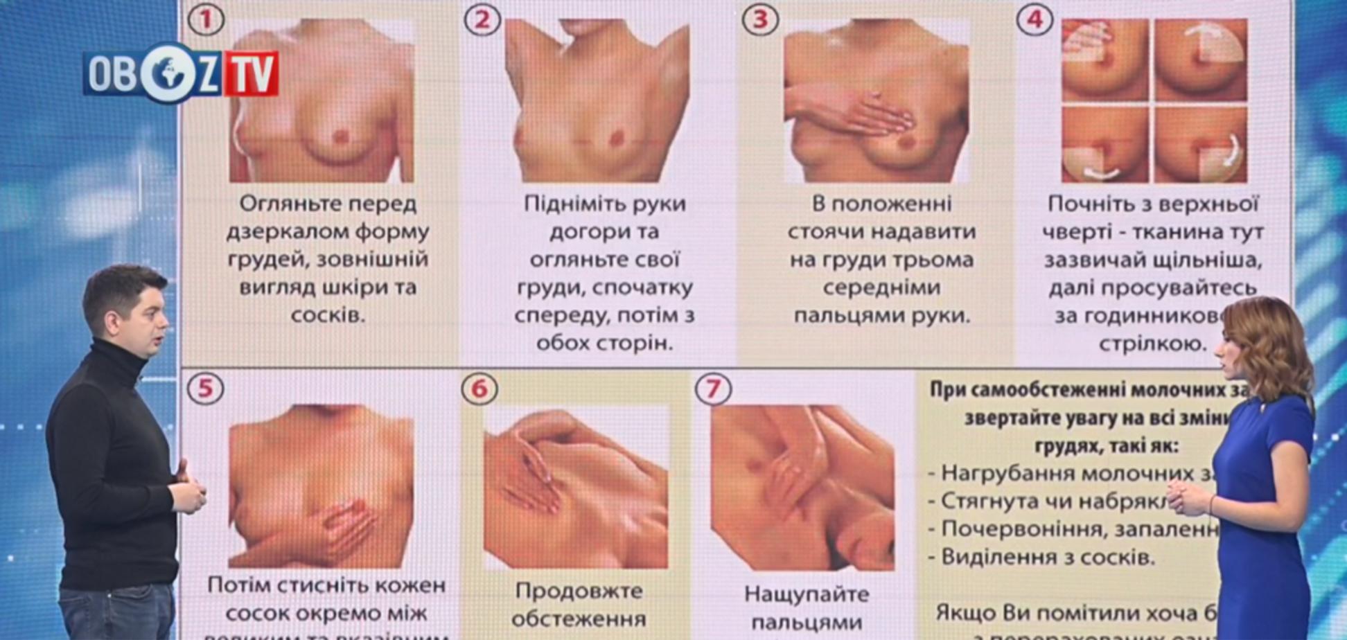 Самообследование молочной железы: врач-онколог предостерег от заблуждений