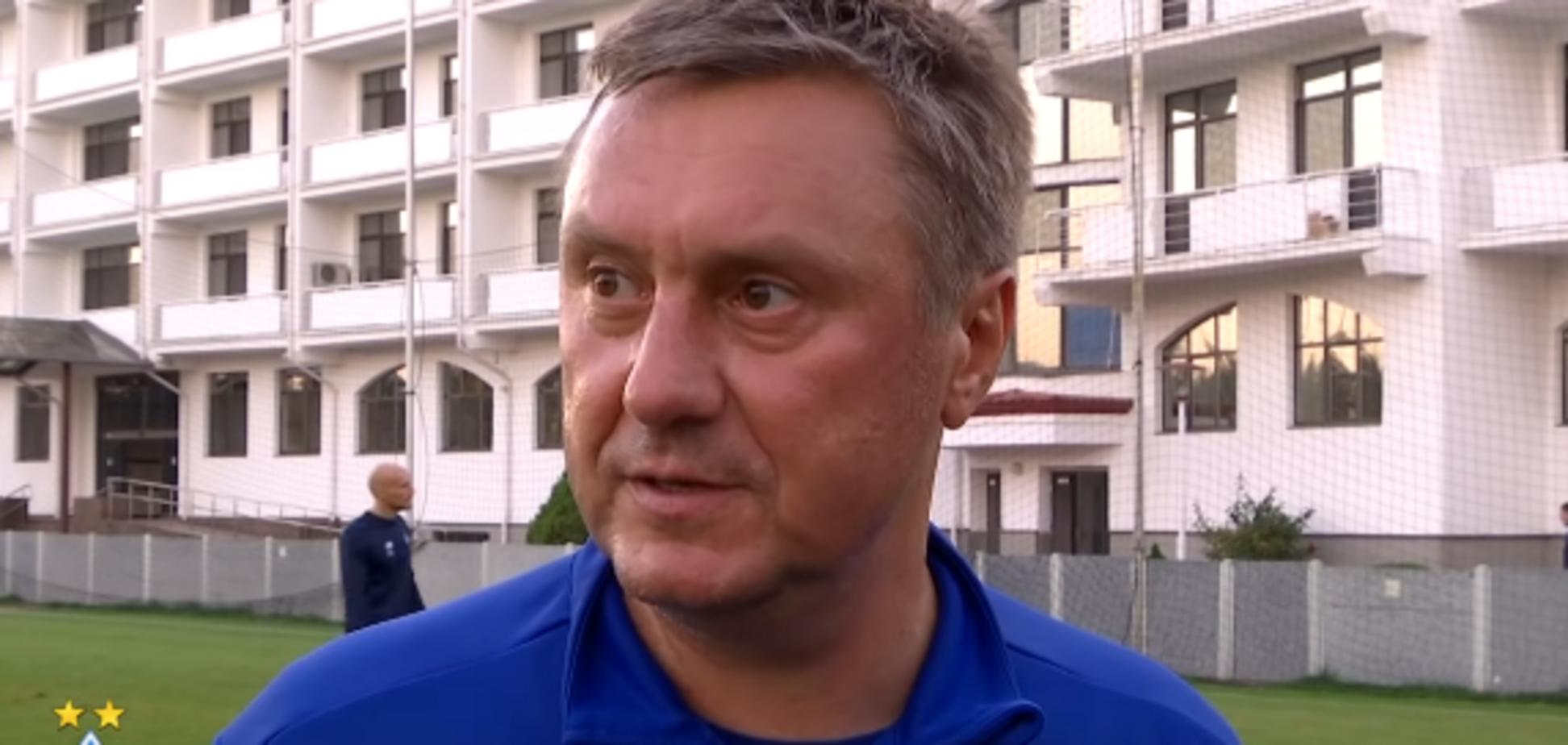 ''Не тот футболист'': Хацкевич сделал признание о новичке 'Динамо'
