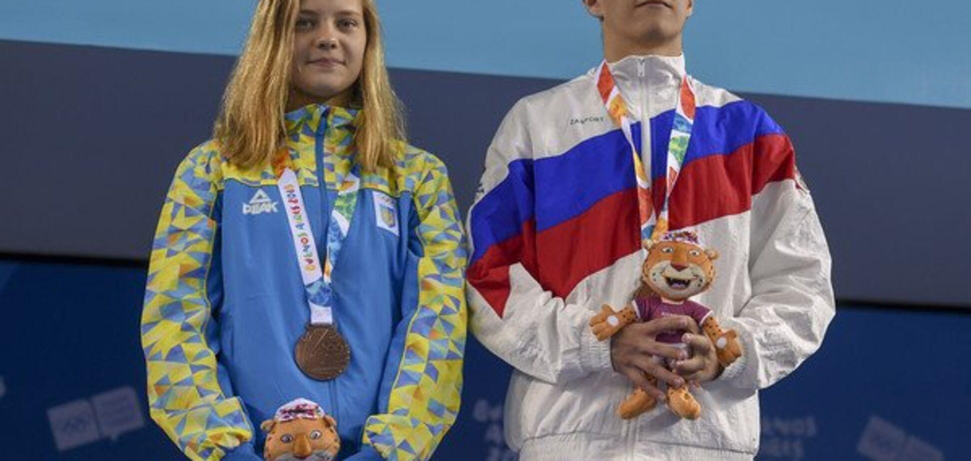 Украина и Россия добыли общую медаль на Юношеской Олимпиаде