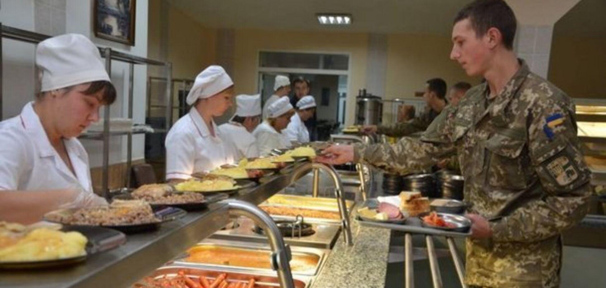 Как в ВСУ кормят обычных солдат