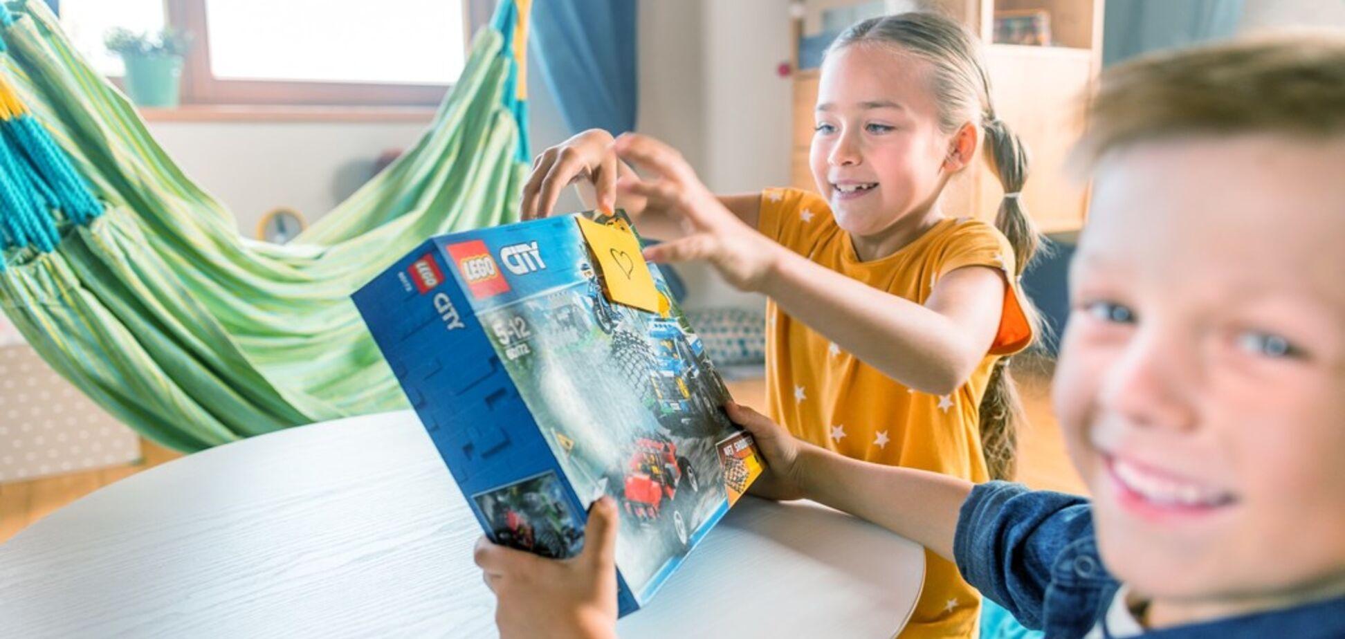 Ваши дети достойны лучшего, а игра с наборами LEGO – безопасна и всегда в удовольствие