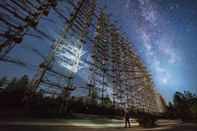 Туристы показали впечатляющие фото секретного объекта в Чернобыле