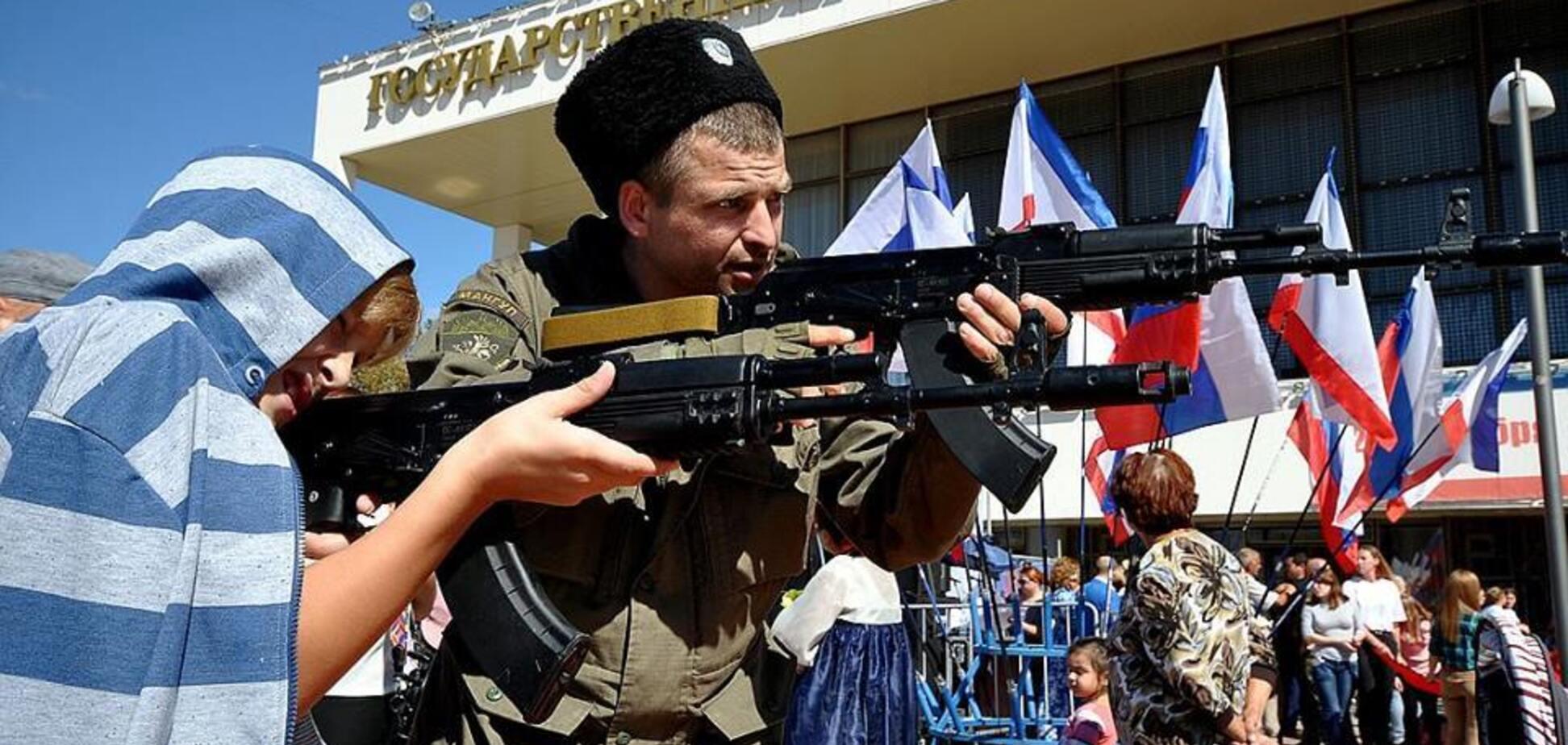 Бойня в Керчи: в сети показали знаковые фото детей с оружием в Крыму