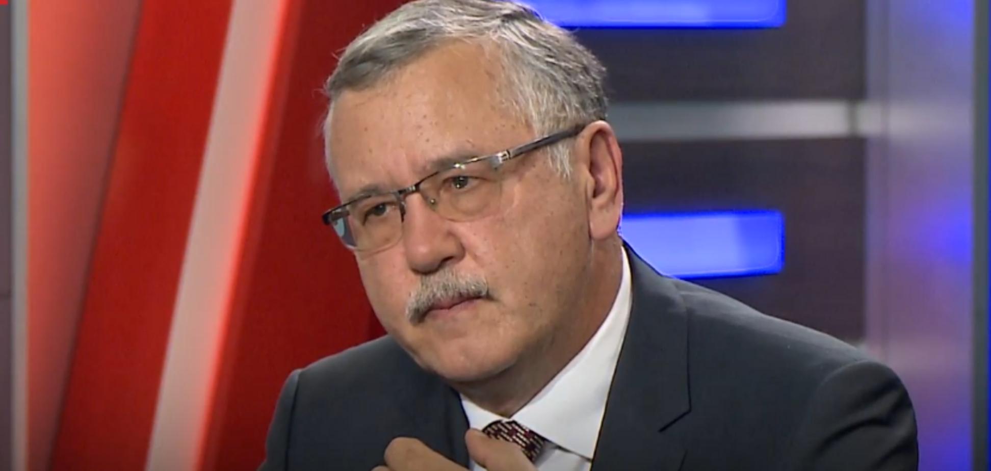 Гриценко: Балога не буде начальником мого штабу